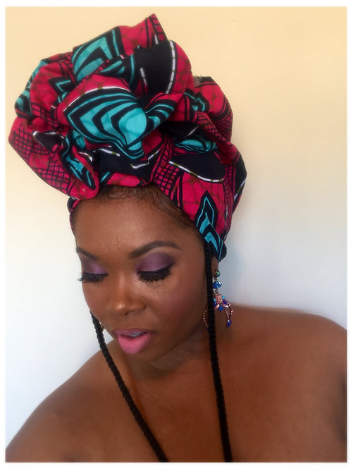 """Bold & Ambitious"" Head Wrap"