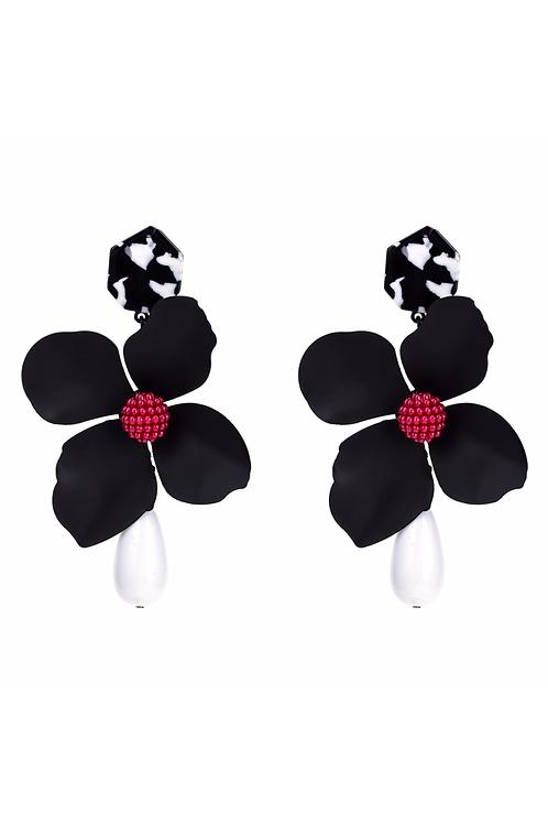 """Perfect Petal"" Oversized Dangle Earrings"