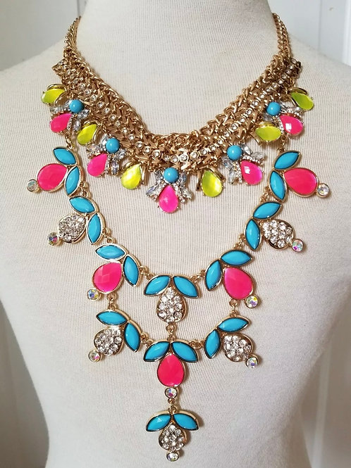"""Sunshine"" Luxe Glam Necklace"