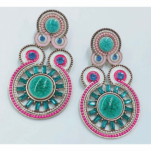 """Class Act"" Luxe Earrings"