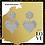 "Thumbnail: ""Bodacious Heart"" Extra Large Glam Earrings"