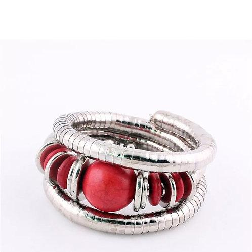 """""""Candy Apple"""" Bangle Bracelet"""