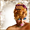 """Thumbnail: """"Pink & Gold"""" Stretch Sequin Head Wrap"""