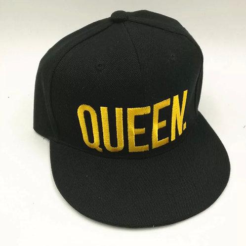 """""""Queen"""" Adjustable Oversized Baseball Cap"""