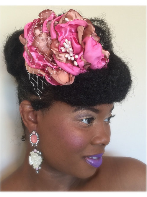 Sophisticated Hair Clip & Brooch