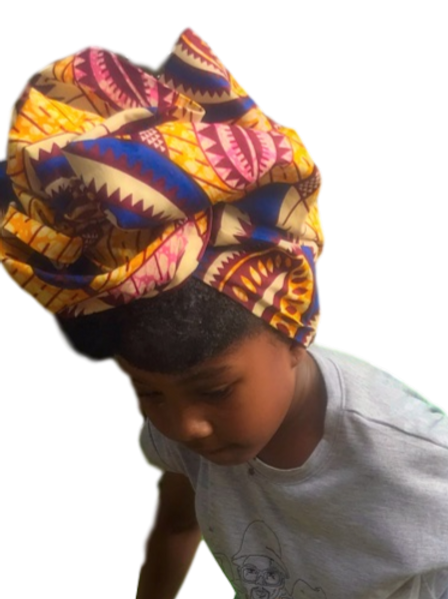 "Sahara ""African Print Headwrap"