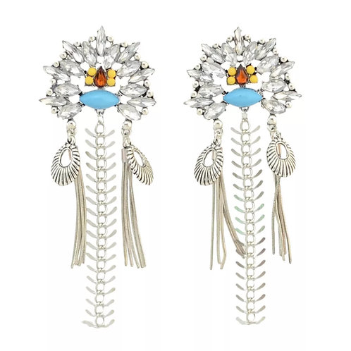 """Drama Queen"" Long Chandelier Earrings"