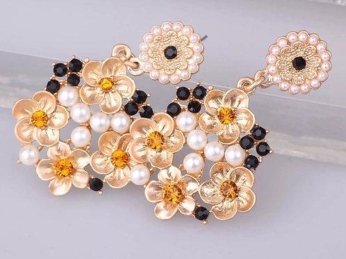 """"""" Pearls Delight"""" Earrings"""