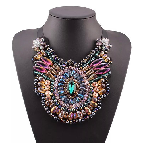 """""""Ambitious"""" Oversized Statement Necklace"""