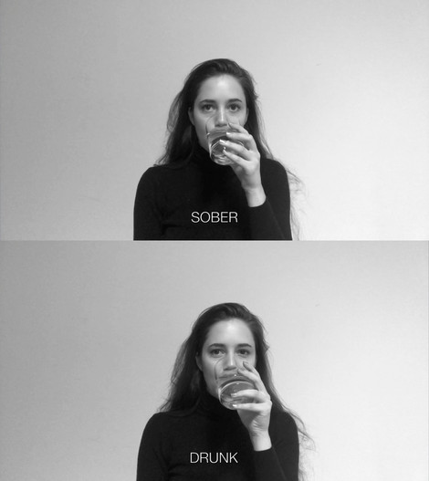 Sober/Drunk (performance), video.