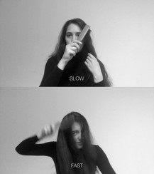 Slow/Fast (performance), video.