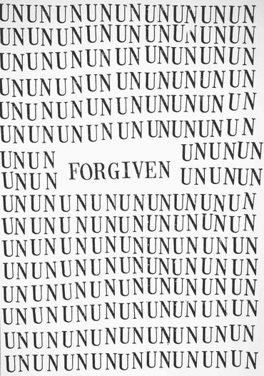 Unforgiven, Ink on paper