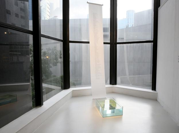 Installation view, Pao Galleries, 2019