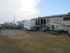RV Campsite and Decor