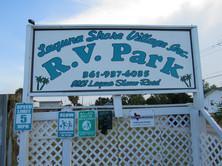 Laguna Shore Village Sign