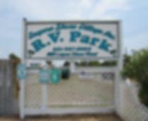 Laguna Shoe Village R.V. Park sign