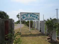 Laguna Shore Village RV Park Sign