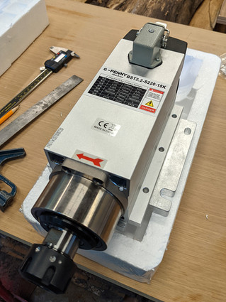 Building the Avid Pro: Mounting a square spindle