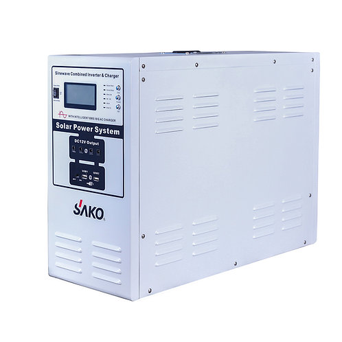 SLZS 1200W Portable DC/AC Kits (with Solar Charge Controller)