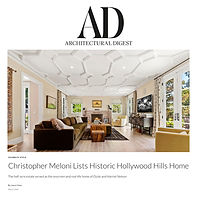 Architectural Digest Article