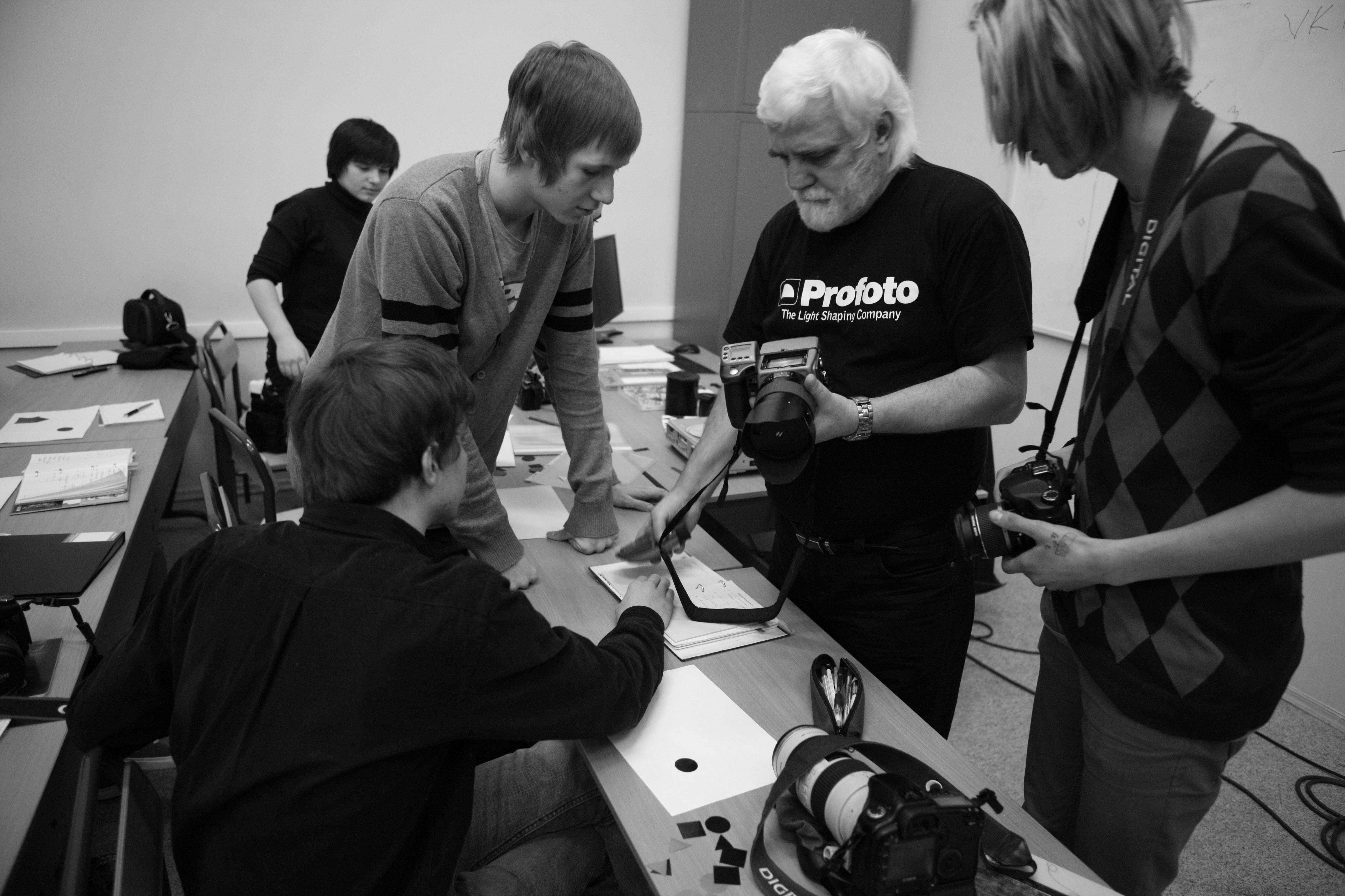 Тренинг с камерой Hasselblad