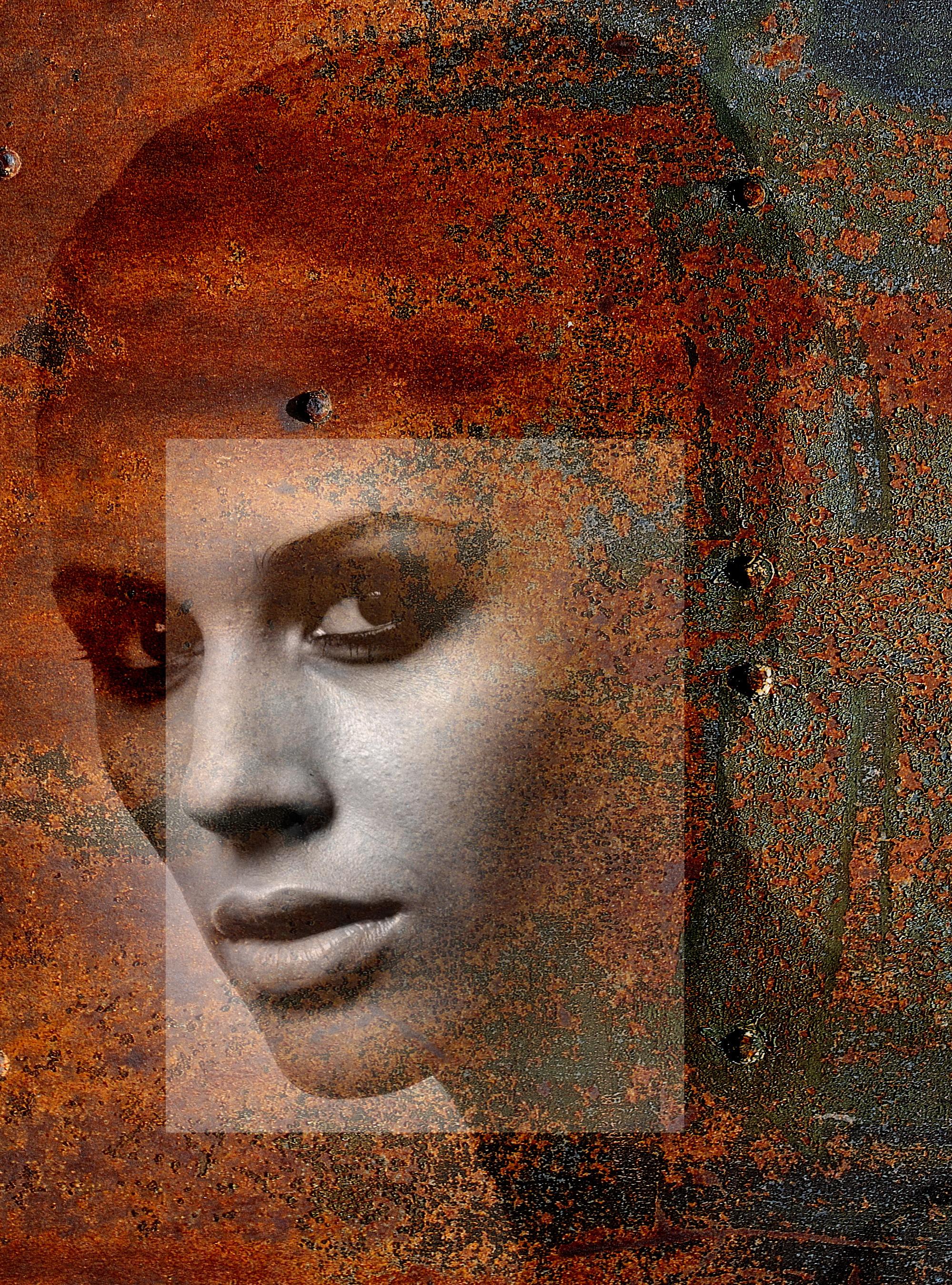Текстурный портрет 001