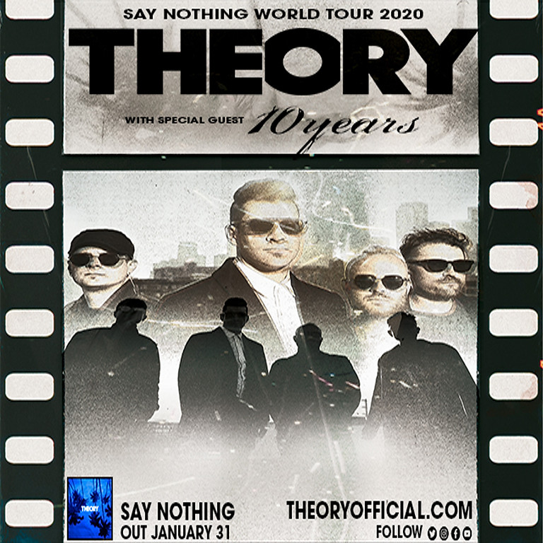 Theory of a Deadman: Say Nothing World Tour