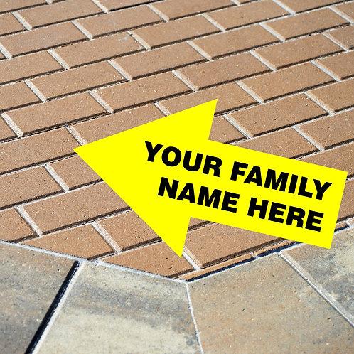 GCA Brick Fundraiser (Family Sponsor)