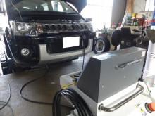 デリカD:5をエンジン内部洗浄 TEREXS新潟