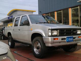 ダットサントラック ディーゼル車にエンジン内部洗浄&インジェクター洗浄TEREXS