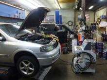 オペル アストラワゴンにTEREXS(ティレックス) エンジン内部洗浄 新潟