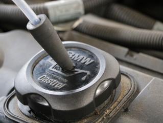 BMW528iにエンジン内部洗浄TEREXS施工