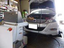 エンジン内部洗浄TEREXS(ティレックス)ホンダ インサイトに施工!