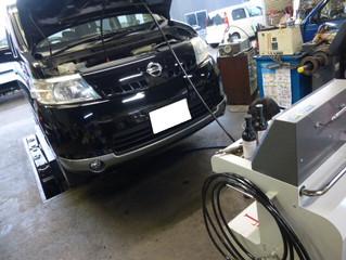☆セレナにTEREXS(ティレックス) エンジン内部洗浄☆ 新潟市 中古車販売店 パレスオートのブログ