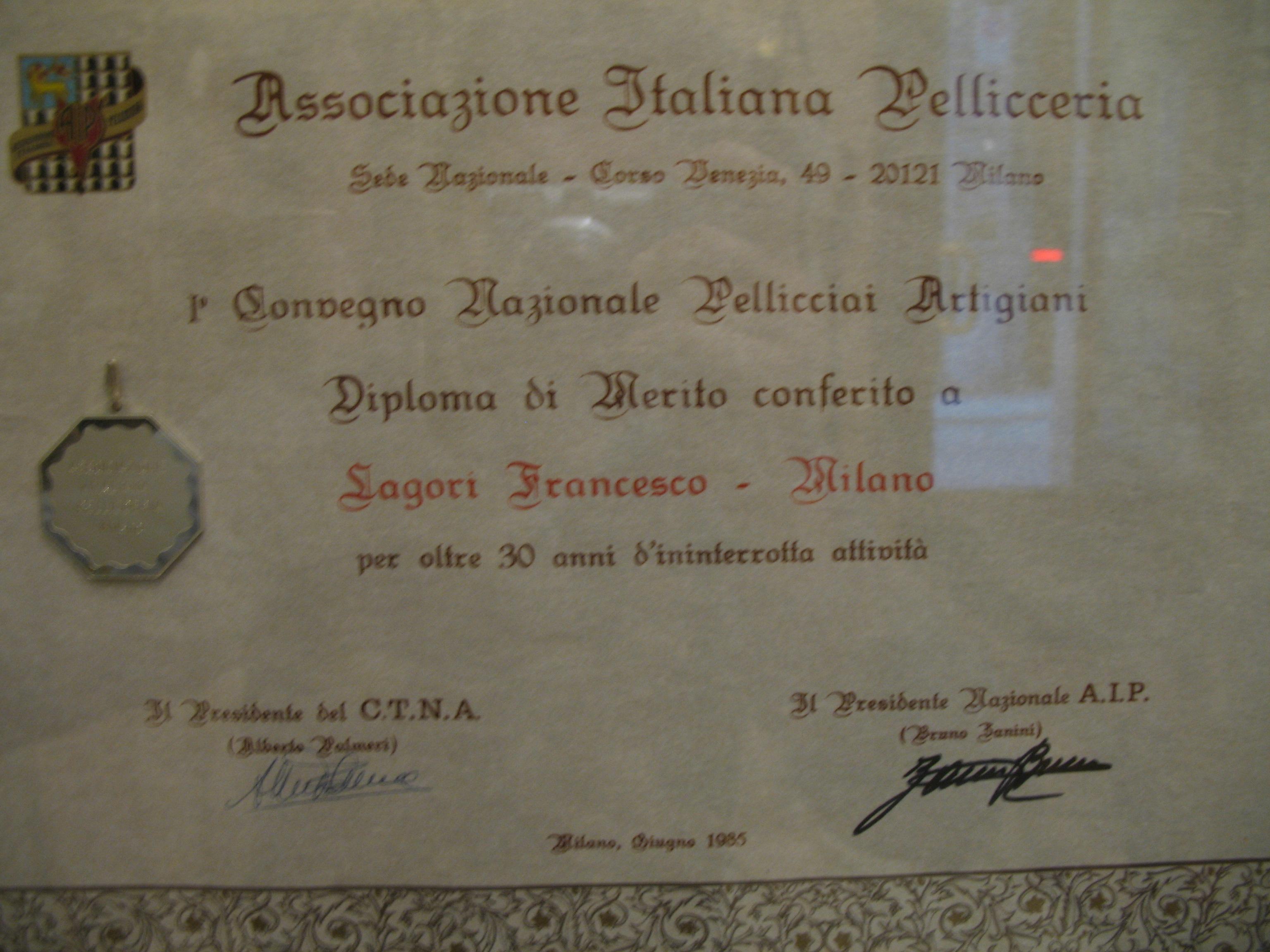 Diploma di merito