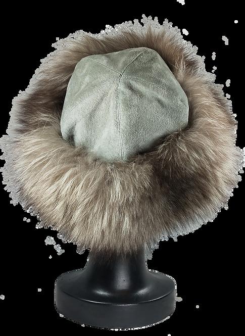 Cappello in Volpe Argentata