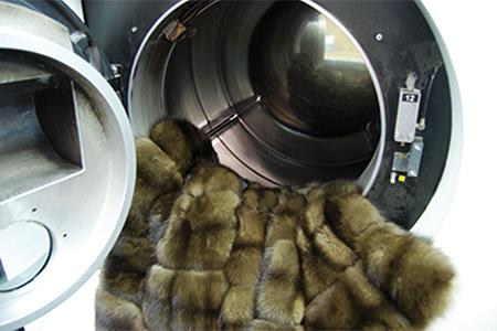 Pulitura professionale pellicce