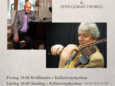 "Mötesserie med Ingemar Helmner ""Berörd av Gud"" 15-17/10"