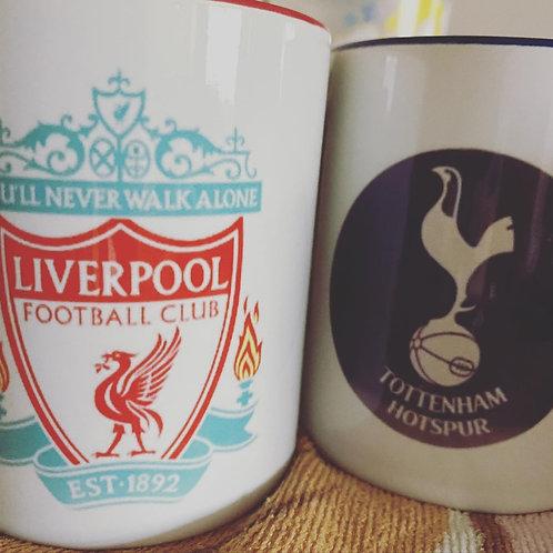 Football club mugs