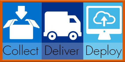 Collect, Deliver and Deploy Service for Healthcare Companies