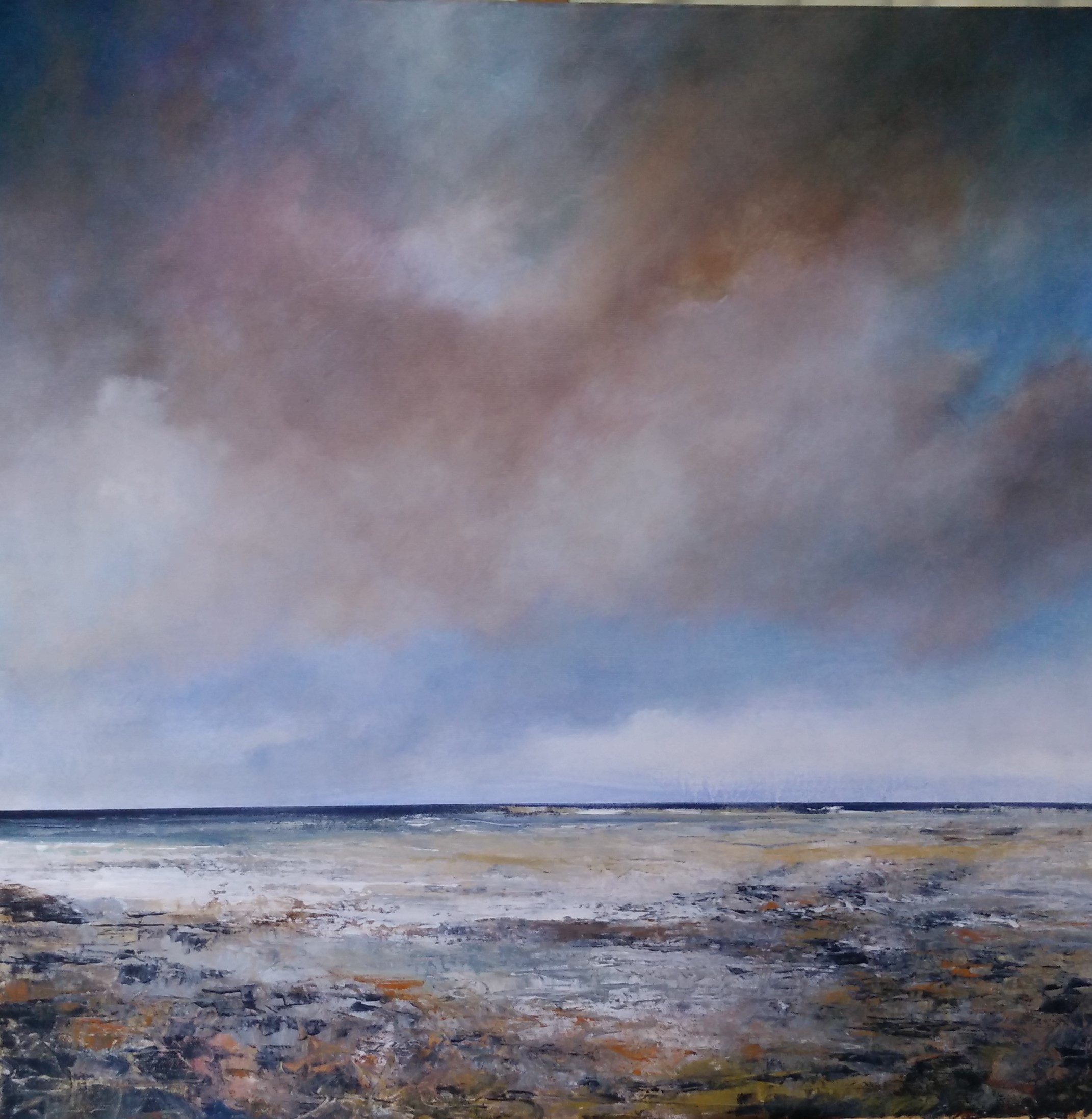 Windswept Day(Seascapes)