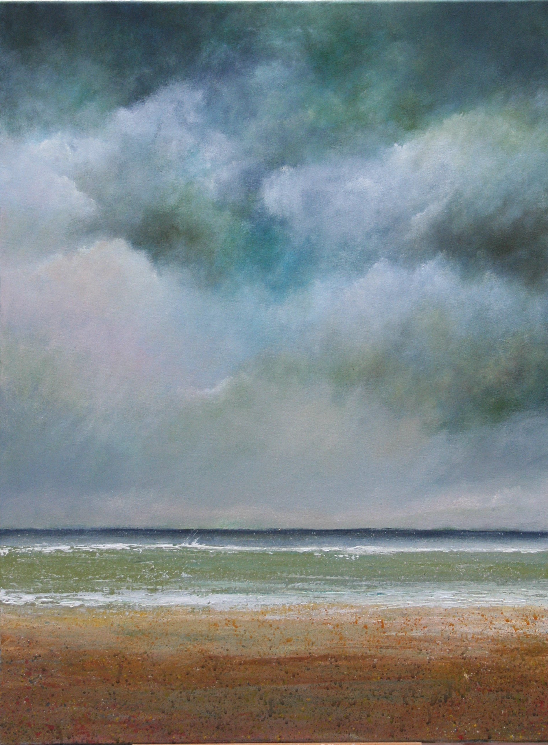 On a Storm Surge(Seascapes)