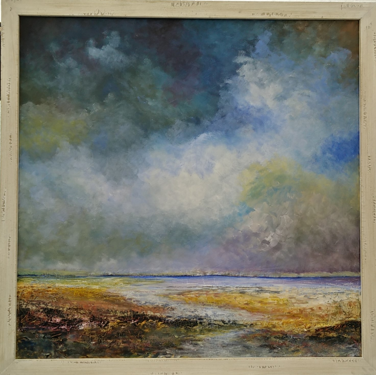Ferry Point,Rock £650 (seascapes)