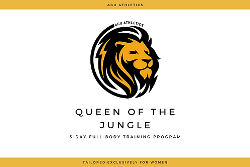 Queen of the Jungle Workout Plan