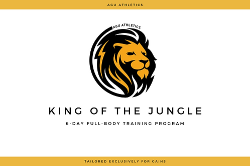 King of the Jungle Workout Plan