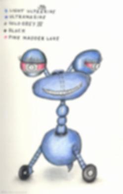 funny robot sketch