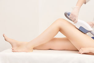 Hair laser removal service. IPL cosmetol