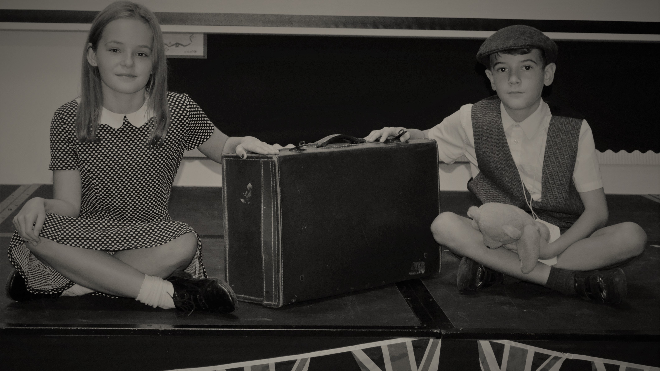evacuee and mother