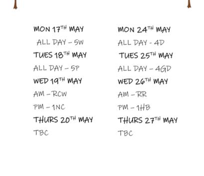 Forest school dates
