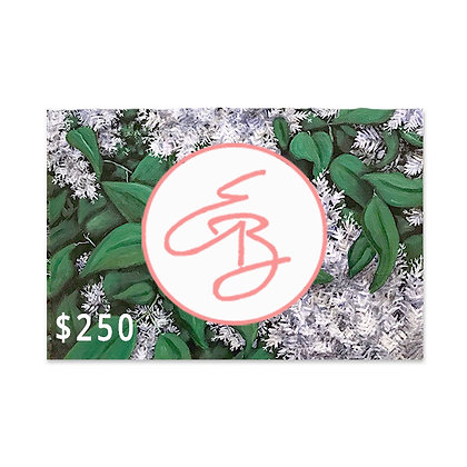 $250 Gift Card to Emma Ballou's Art Shop